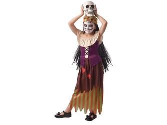 Šaty na karneval -  čarodějka, 120 - 130  cm