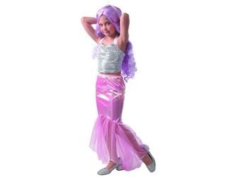 Šaty na karneval - mořská panna, 130 - 140 cm