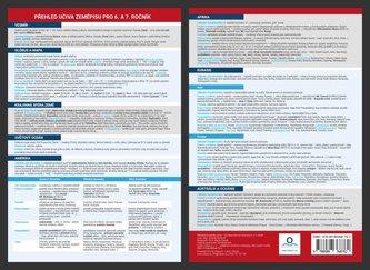 Přehled učiva zeměpisu pro 6. a 7. ročník - Přehledová tabulka učiva