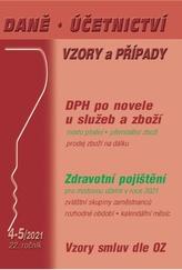 Daně, účetnictví, vzory a případy 4-5/2021