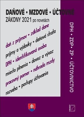 Daňové, účtovné, mzdové zákony po novelách 2021