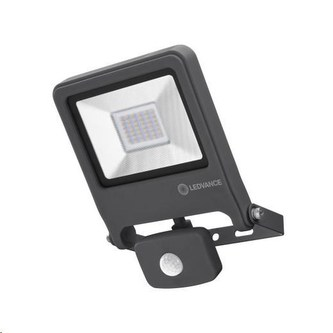 LEDVANCE ENDURA FLOOD SENSOR 30W 830 Dark Grey