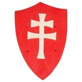 Fauna Dřevěný štít dvojitý kříž