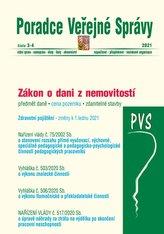 PVS č. 3-4/2021 Daň z nemovitostí - VYHLÁŠKA č. 503/2020 Sb. o výkonu znalecké činnosti, VYHLÁŠKA č. 506/2020 Sb. o výkonu tlumočnické a překladatelské činnosti