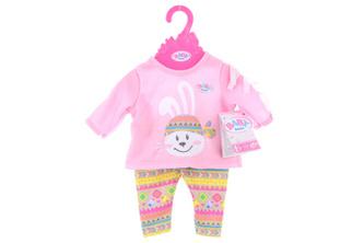 BABY born Oblečení se zajíčkem, 43 cm