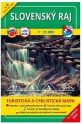 Slovenský raj 1 : 25 000