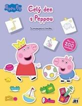 Celý den s Peppou - Samolepková knížka