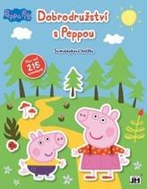 Dobrodružství s Peppou - Samolepková knížka