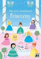 Třpytivé princezny - Moje první samolepkování