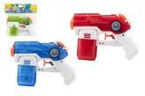 Vodní pistole plast 19cm 1 ks, 3 různé barvy