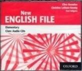 New English File Elementary Class Audio CDs