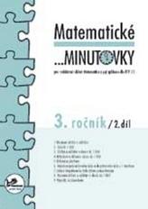 Matematické minutovky pro 3. ročník/ 2. díl