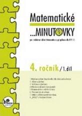 Matematické minutovky pro 4. ročník/ 1. díl