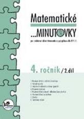 Matematické minutovky pro 4. ročník/ 2. díl