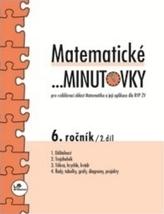 Matematické minutovky 6.ročník 2.díl