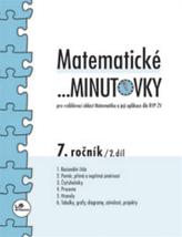 Matematické minutovky pro 7.ročník 2.díl