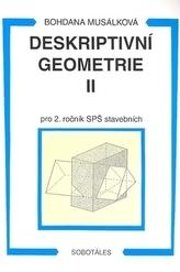 Deskriptivní geometrie II pro 2. ročník SPŠ stavebních