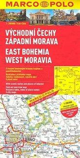 ČR 2 Východní Čechy, zápaní Morava 1:200 000
