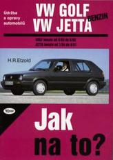 VW Golf, Jetta benzín od 9/83 do 6/92