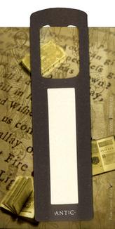 Antická záložka Mince tmavě šedá - AZ 005
